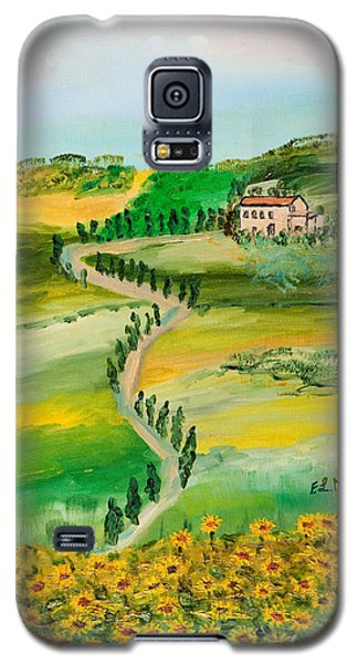 Verde Sentiero Galaxy S5 Case by Loredana Messina