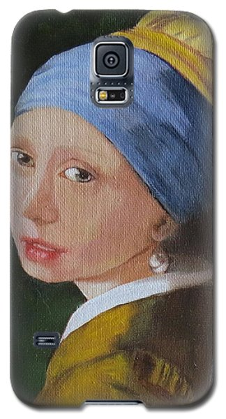 Vermeer Study Galaxy S5 Case by Sharon Schultz