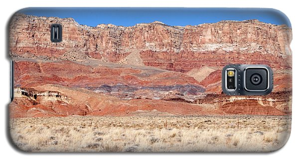 Galaxy S5 Case featuring the photograph Vermillion Cliffs Colors by Bob and Nancy Kendrick