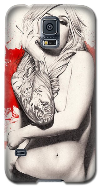 Vermillion Galaxy S5 Case