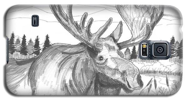 Vermont Bull Moose Galaxy S5 Case