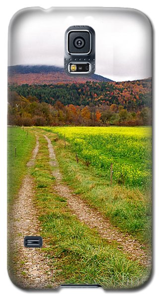 Vermont Farmer's Track Galaxy S5 Case by Vinnie Oakes