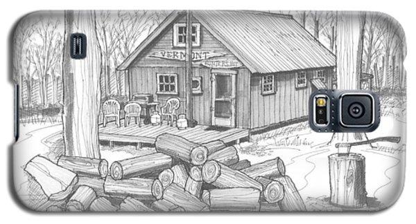 Vermont Hunter Lodge Galaxy S5 Case