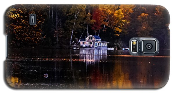 Vermont Route14 Pond Galaxy S5 Case