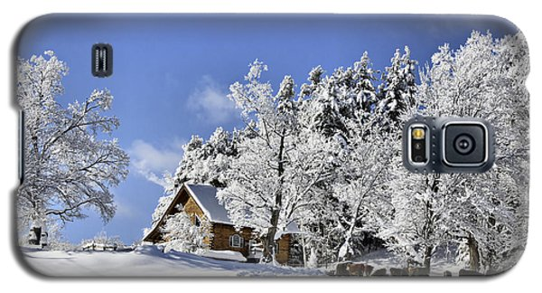 Vermont Winter Beauty Galaxy S5 Case