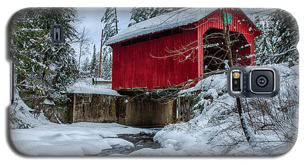Vermonts Moseley Covered Bridge Galaxy S5 Case by Jeff Folger