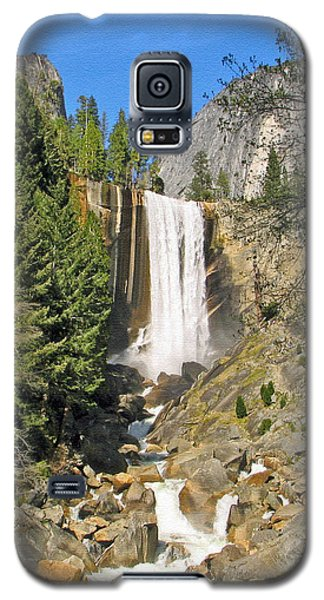 Vernal Fall On The Mist Trail Galaxy S5 Case