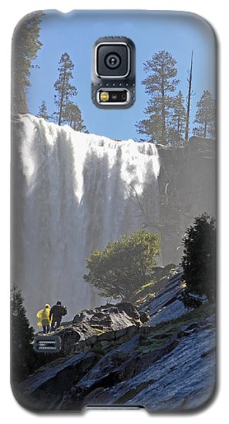 Galaxy S5 Case featuring the photograph Vernal Falls Mist Trail by Duncan Selby