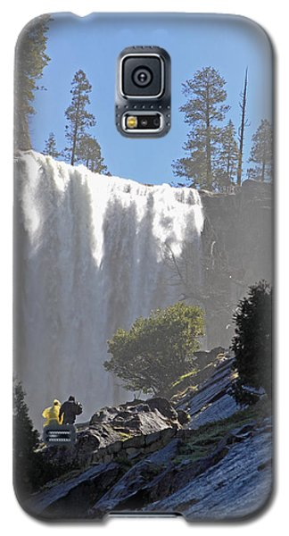 Vernal Falls Mist Trail Galaxy S5 Case by Duncan Selby