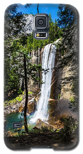 Vernal Falls Through The Trees Galaxy S5 Case by Mike Lee