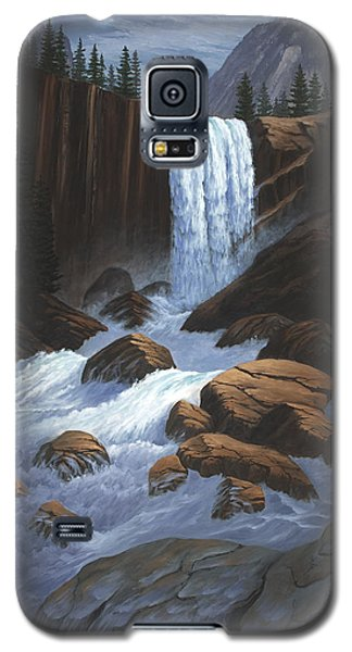 Vernal Falls Yosemite  Galaxy S5 Case