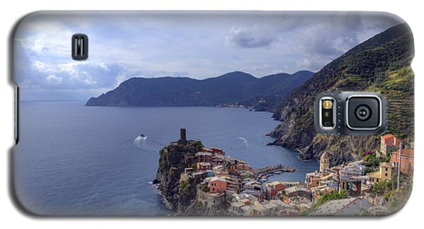 Vernazza By The Sea Galaxy S5 Case