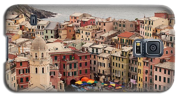 Vernazza Italy Galaxy S5 Case by Kim Fearheiley