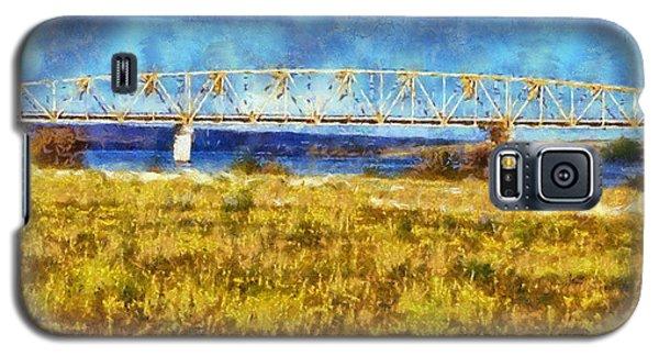 Galaxy S5 Case featuring the digital art Vernita Bridge by Kaylee Mason