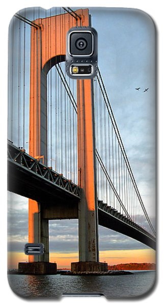 Verrazano Bridge At Sunrise - Verrazano Narrows Galaxy S5 Case