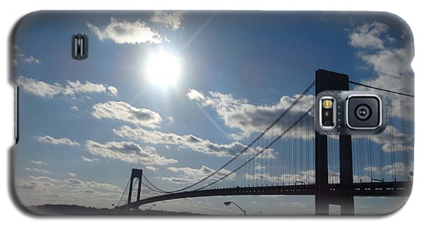 Verrazano Bridge Sunset Galaxy S5 Case