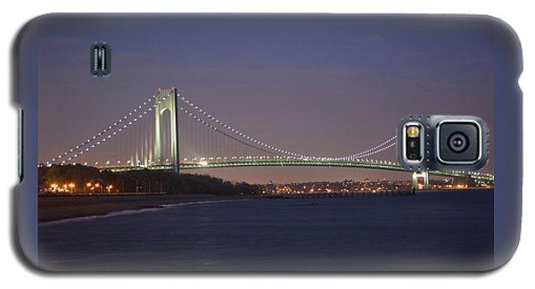 Verrazano Narrows Bridge At Night Galaxy S5 Case
