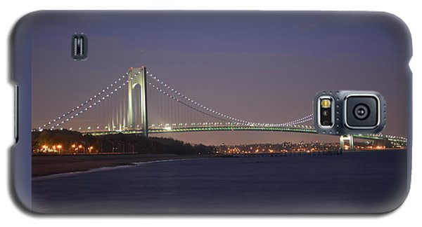 Verrazano Narrows Bridge At Night Galaxy S5 Case