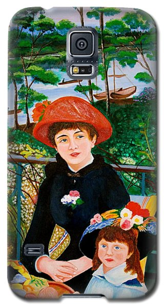 Version Of Renoir's Two Sisters On The Terrace Galaxy S5 Case