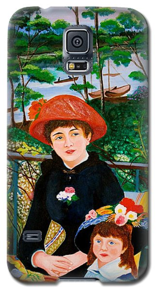 Version Of Renoir's Two Sisters On The Terrace Galaxy S5 Case by Cyril Maza