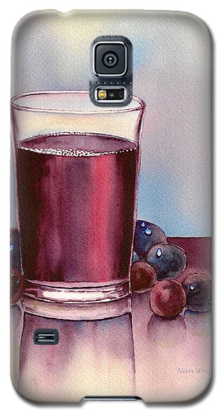 Very  Berry Galaxy S5 Case by Nan Wright