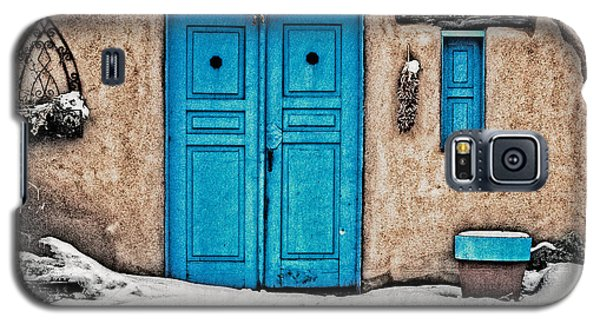 Very Blue Door Galaxy S5 Case