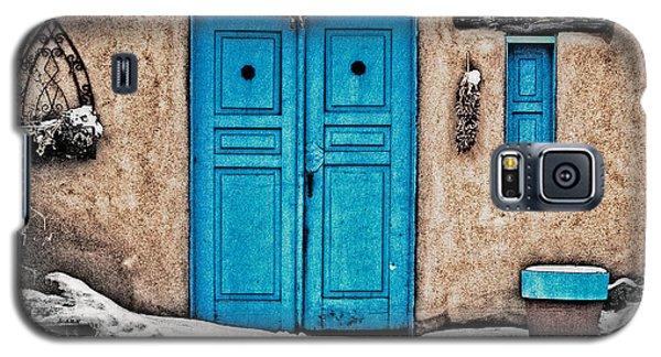 Very Blue Door Galaxy S5 Case