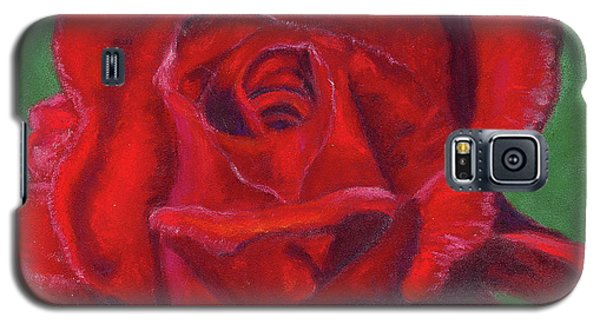 Very Red Rose Galaxy S5 Case