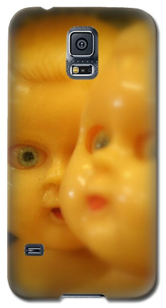 Galaxy S5 Case featuring the photograph Very Scary Doll by Lynn Sprowl