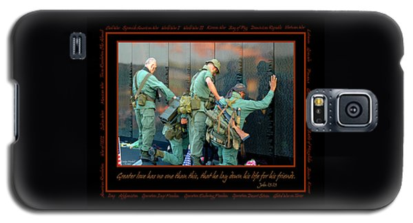 Veterans At Vietnam Wall Galaxy S5 Case