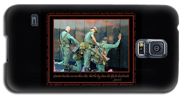 Veterans At Vietnam Wall Galaxy S5 Case