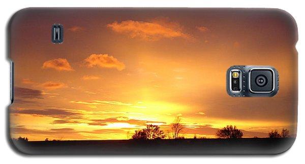 Veteran's Day Sunset 2013 Galaxy S5 Case by J L Zarek