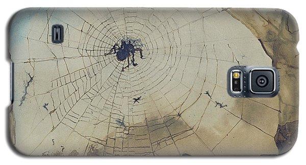 Vianden Through A Spider's Web Galaxy S5 Case