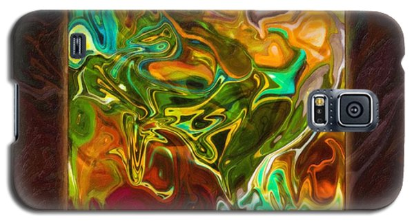 Vibrant Fall Colors An Abstract Painting Galaxy S5 Case