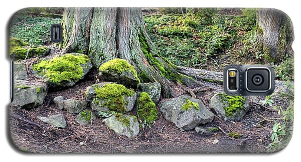 Galaxy S5 Case featuring the photograph Vibrant Green Moss by Jeanne Kay Juhos