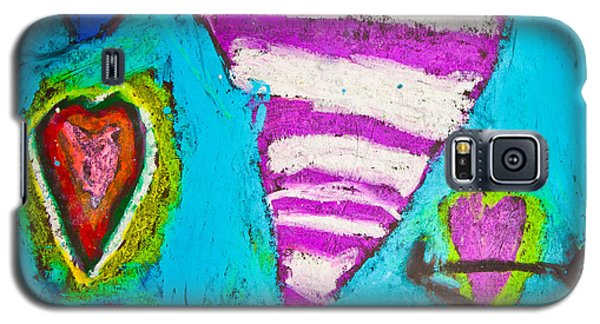 Galaxy S5 Case featuring the photograph Vibrant Love by Sara Frank