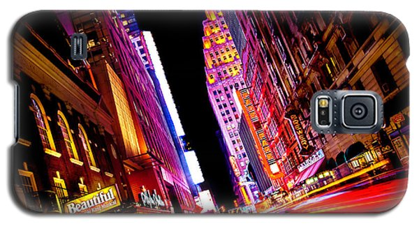 Vibrant New York City Galaxy S5 Case by Az Jackson
