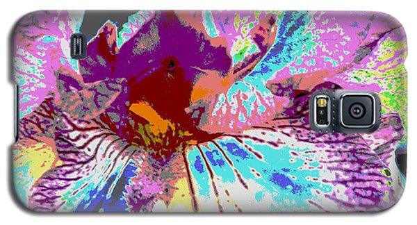 Vibrant Petals Galaxy S5 Case by Sally Simon