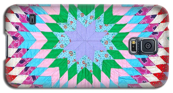 Vibrant Quilt Galaxy S5 Case by Art Block Collections