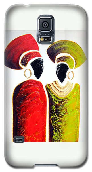 Vibrant Zulu Ladies - Original Artwork Galaxy S5 Case
