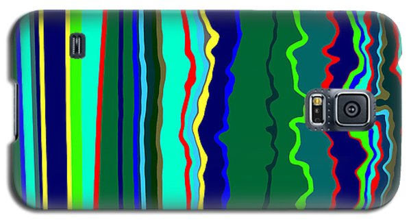 Vibrato Stripes  C2014  Galaxy S5 Case by Paul Ashby