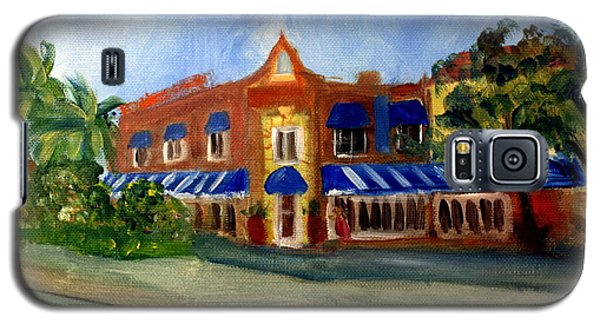 Vic And Angelos In Downtown Delray Beach Galaxy S5 Case by Donna Walsh