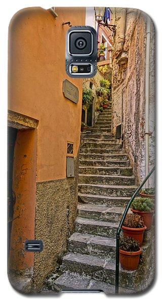 Vicolo Della Valle Riomaggiore Italy Dsc02537  Galaxy S5 Case