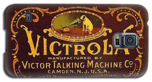Victor Victrola Label Galaxy S5 Case by J L Zarek