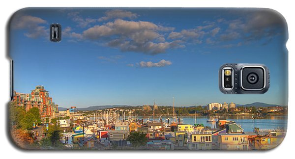 Victoria Bc Fisherman's Wharf Galaxy S5 Case by JPLDesigns