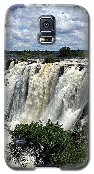 Victoria Falls On The Zambezi River Galaxy S5 Case
