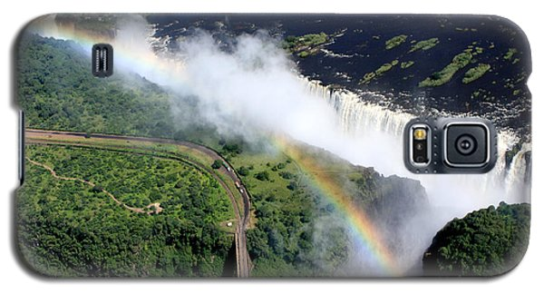 Rainbow Over Victoria Falls  Galaxy S5 Case