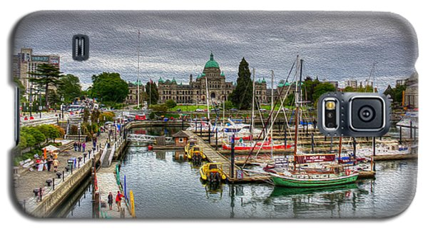 Victoria Inner Harbour Galaxy S5 Case