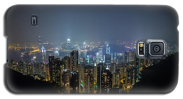 Galaxy S5 Case featuring the photograph Victoria Peak by Mike Lee