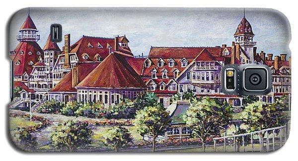 Victorian Hotel Del Galaxy S5 Case